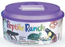 LEE'S Reptile Ranch, Round Frog Lizard Snake Cage Enclosure