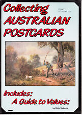 Australia Collecting Australian Postcards Nick Vukovic with Guide to values.New