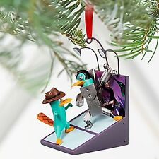 Disney 2011 Ornament Phineas and Ferb Across the Second Dimension Agent P NIB