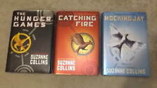 THE HUNGER GAMES Complete HC DJ 1st Lot 3 Books Catching Fire Mockingjay Collins