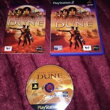 Frank Herbert's Dune (PS2) PlayStation 2 COMPLETE WITH MANUAL