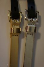 Style & Co Belts Sz S Gold Silver Non Leather Material 2 Belt Set SC711
