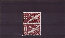 NEW CALEDONIA - SG283 MNH 1942 FREE FRENCH ISSUE AIR 5f PURPLE - PAIR