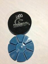 "(9)  3"" 1800 Grit ""Pie Shaped"" Concrete Polishing Resin Diamond"