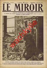 Le miroir n°156 du 19/11/1916 Combles fort de Douaumont batonnier Théodor