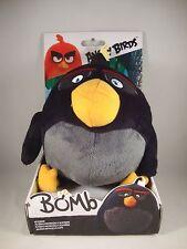 "Angry Birds ""Bombe"" Plüsch-Figur Rovio Film Anhänger Keychain Stofftier Bomb"