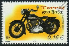 Terrot 500 RGST Motorbike Bike Motorcycle Stamp (2002 France)