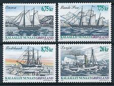 [ST7178] Greenland 2003 Boats Good set of stamps very fine MNH