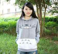 3D Thick Sweatshirt Harajuku Cartoon Totoro Animal Print Women Sport  Hoodie