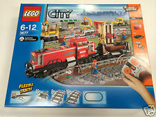 New Sealed LEGO City 3677 RED CARGO TRAIN RARE And Discontinued