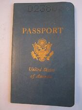 1963 U.S. PASSPORT - COLLECTIBLE WITH NUMEROUS STAMPINGS - SEE PICS - TUB RRRR