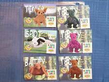 BEANIE BABY CARDS S2 SERIES 21998 GOLD WORLD SERIES POKEMON TINY TEDDY SPOT BATT