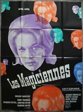 LES MAGICIENNES Affiche Cinéma / Movie Poster Serge Friedman Jacques Riberolles