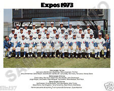 1973 MONTREAL EXPOS BASEBALL 8X10 TEAM PHOTO #2
