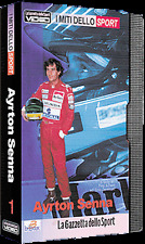 VHS AYRTON SENNA I MITI DELLO SPORT video FORMULA 1 Grand Prix no cd mc dvd vcd