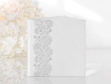 Gästebuch Hochzeit Hochzeitsgästebuch mit Verzierung Hochzeitsalbum Fotoalbum