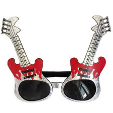 Electric guitar shaped glasses,fun party glasses,novelty glasses,funny glasses