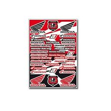 Motocross MX Autocollant Décor Honda Factory racing sticker set Kit rouge CR CRF