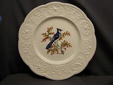 """ROYAL COULDON  """"AVIARY""""  BLUE JAY  DINNER PLATE"""