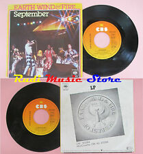 LP 45 7'' EARTH WIND & FIRE September Love's holiday 1977 germany no cd mc dvd