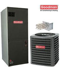 4.0 ton Goodman 16 seer R410A central air system GSX160481A / AVPTC48D14