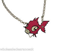 END OF LINE STOCK OF 50 PUNKYFISH FISH LOGO NECKLACES