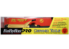"BaByliss Pro Ceramic Tools CT155S 1-1/2"" Dual Voltage Spring Curling Iron."
