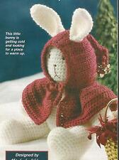 Crochet Pattern ~ Snow Bunny Christmas ~ Instructions