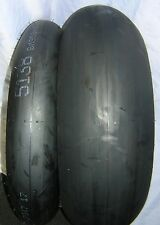 Dunlop 120/70x17 KR106 MS2 & 195/65X17 KR108 MS3 Pair Slick Tyres. New Stock
