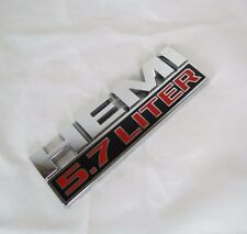 RAM TRUCK HEMI 5.7 LITER EMBLEM 13-16 GENUINE OEM FENDER BADGE sign symbol logo