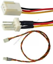 "10pk 18""LONG ATX 3pin Fan Power Supply Extension Male~Female Cable/Cord $SH DISC"
