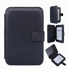 PU Leather Protector Shell Case Cover F Barnes Noble B&N Nook 2 2nd Simple Touch