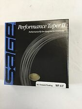 "SAGE PERFORMANCE TAPER II WF4F FLY LINE *NEW IN BOX* ""OVER 50 % OFF RETAIL"""