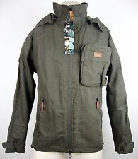 JEEP MAN CONVERTIBLE HOODED JACKET J4P SOFT SHELL JACKET PARKA Gr.M NEU ETIKETT