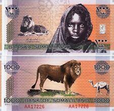 RARRRR BANKNOTE SOMALILAND 1000 Shilling 2006 U.N.C !!!!