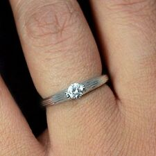 18k Pure Gold Natural Top Diamond Engagement Ring vs quality color g wedding