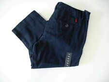 Ralph Lauren Boys Chino Pants Aviator Navy Sz 16 - NWT