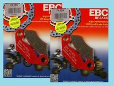 2x Sets EBC FA159TT Carbon Front Brake Pads for Polaris 325 330 425 & 500 Magnum