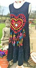 MAGICAL NEW DREAM CATCHER DRESS UK SIZE 10 12 14 HIPPIE BOHO GYPSY SKIRT TOP