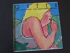 "QUEEN  :  Bicycle Race / Fat Bottomed Girls HUNGARY 7"" Single Hungarian Vinyl"