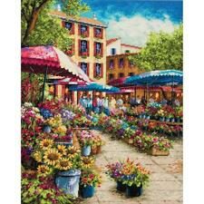 Dimensions Gold Collection - Provence Market - Counted Cross Stitch Kit 70-35333