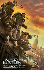 TMNT Out of the Shadows Teenage Turtles - original DS movie poster - D/S 27x40