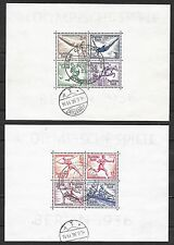 German Reich stamps 1936 MI Bloc 5-6  CANC  VF  Olympics