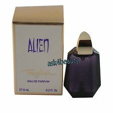 Alien By Thierry Mugler Mini 0.2oz/6ml  Edp Splash For Women New In Box