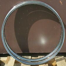 "2 NOS Vintage 26"" Balloon Tire Bicycle Steel Rim 36 holes Cruiser 38mm Heavy"
