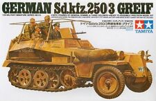 Tamiya 35113 WWII German Sd.Kfz. 250/3 Half-Track 'Greif' 1/35 Scale Model Kit