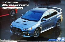 Aoshima 1/24 The Model Car SP Kit Mitsubishi Lancer Evolution X Evo 10 CZ4A