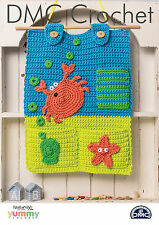 "DMC Crochet Pattern  ""Rockpool Room Tidy"""
