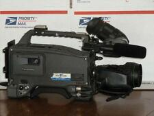 Panasonic AJ-D700P TESTED! with Canon YH18 Lens and Porta Brace Carry Bag NICE!