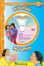 Mi familia / My Family Spanish-English Reader With CD Dual Language Readers wit